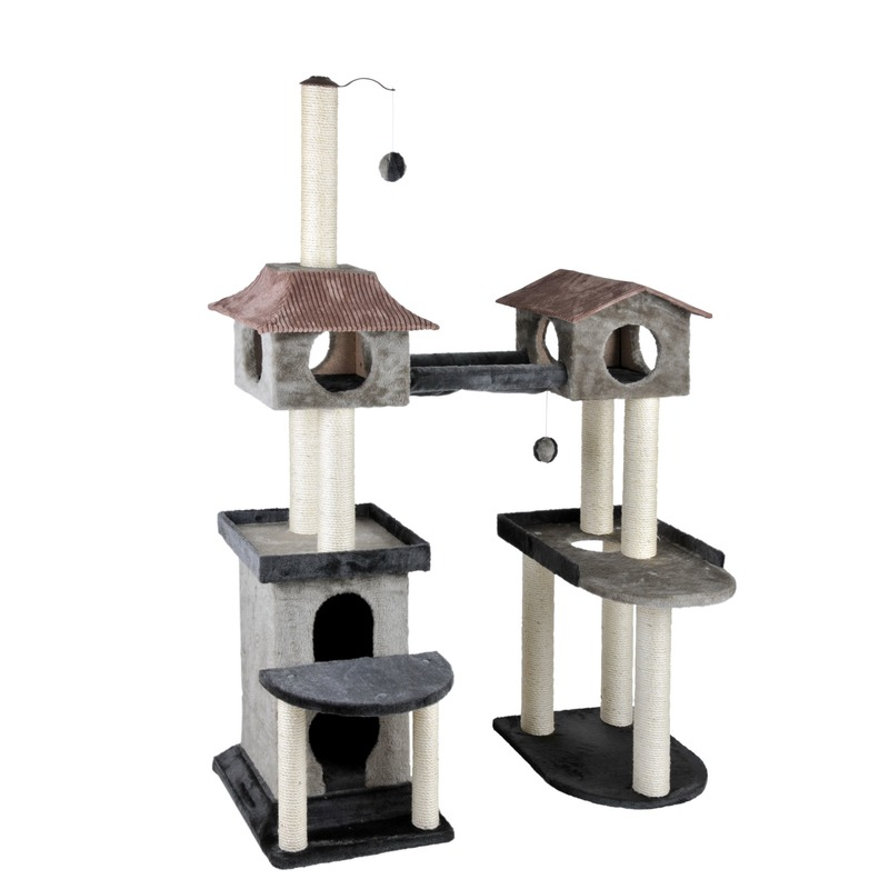 cat castle abenteuer kratzbaum von silvio design g nstig bestellen bei. Black Bedroom Furniture Sets. Home Design Ideas
