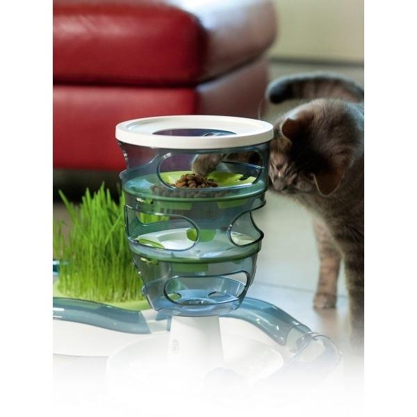 Catit Design Senses Futter-Labyrinth Katzenspielzeug Bild 2