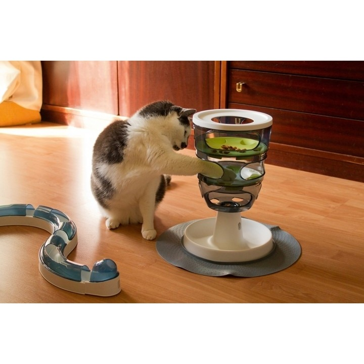 Catit Design Senses Futter-Labyrinth Katzenspielzeug Bild 3