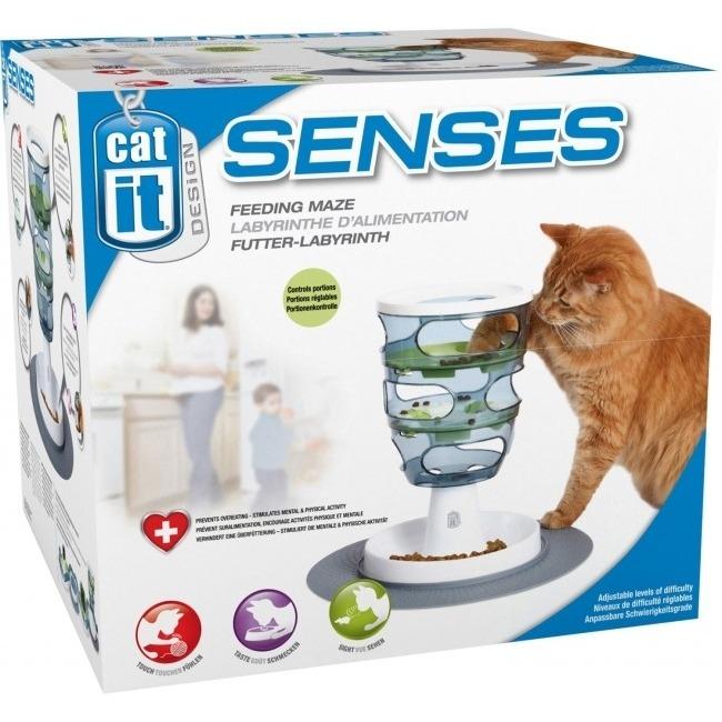 Catit Design Senses Futter-Labyrinth Katzenspielzeug Bild 4