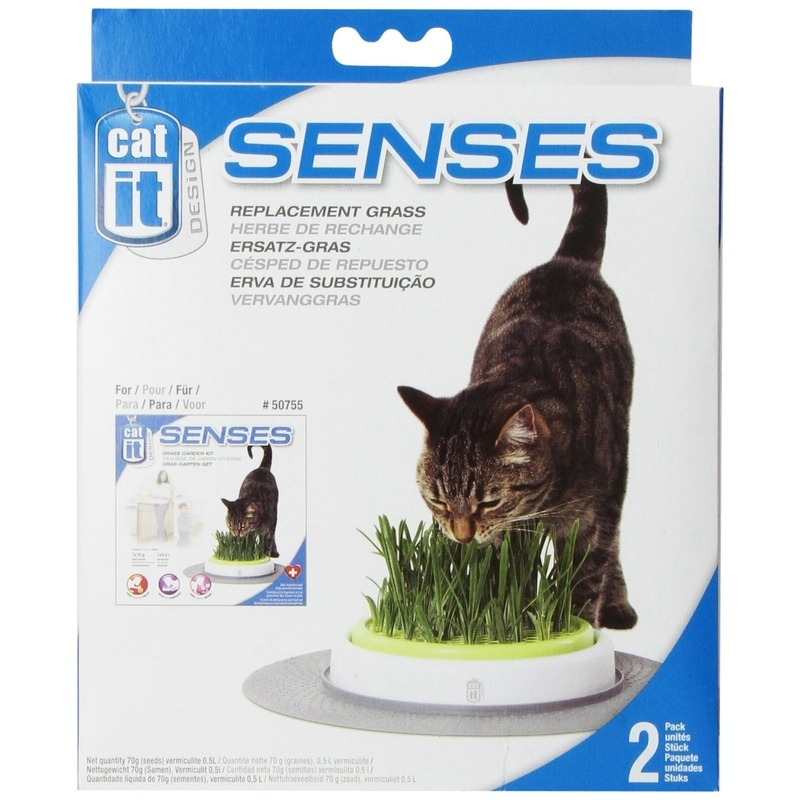 Catit Design Senses Gras Garten Nachfüllpack Bild 1