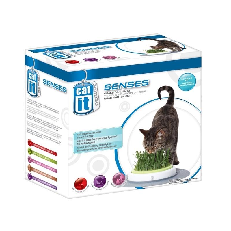 Catit Design Senses Gras-Garten-Set Katzengras Bild 4