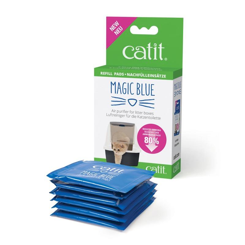 Catit Magic Blue Geruchsfilter für Katzentoilette Bild 2