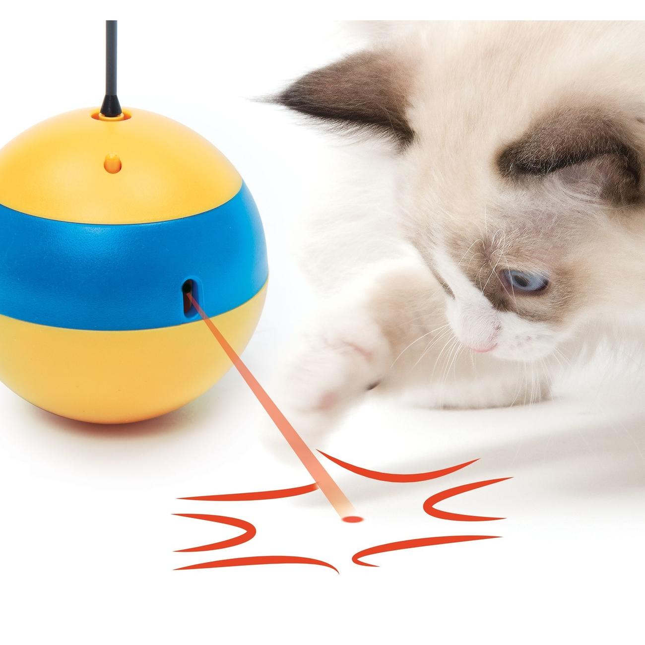 Catit Play 2.0 Tumbler Bee Laserspielzeug Bild 3