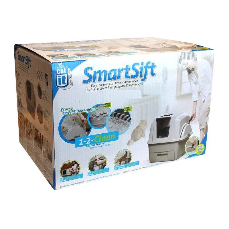 Catit Smart Sift selbstreinigende Katzentoilette Bild 7
