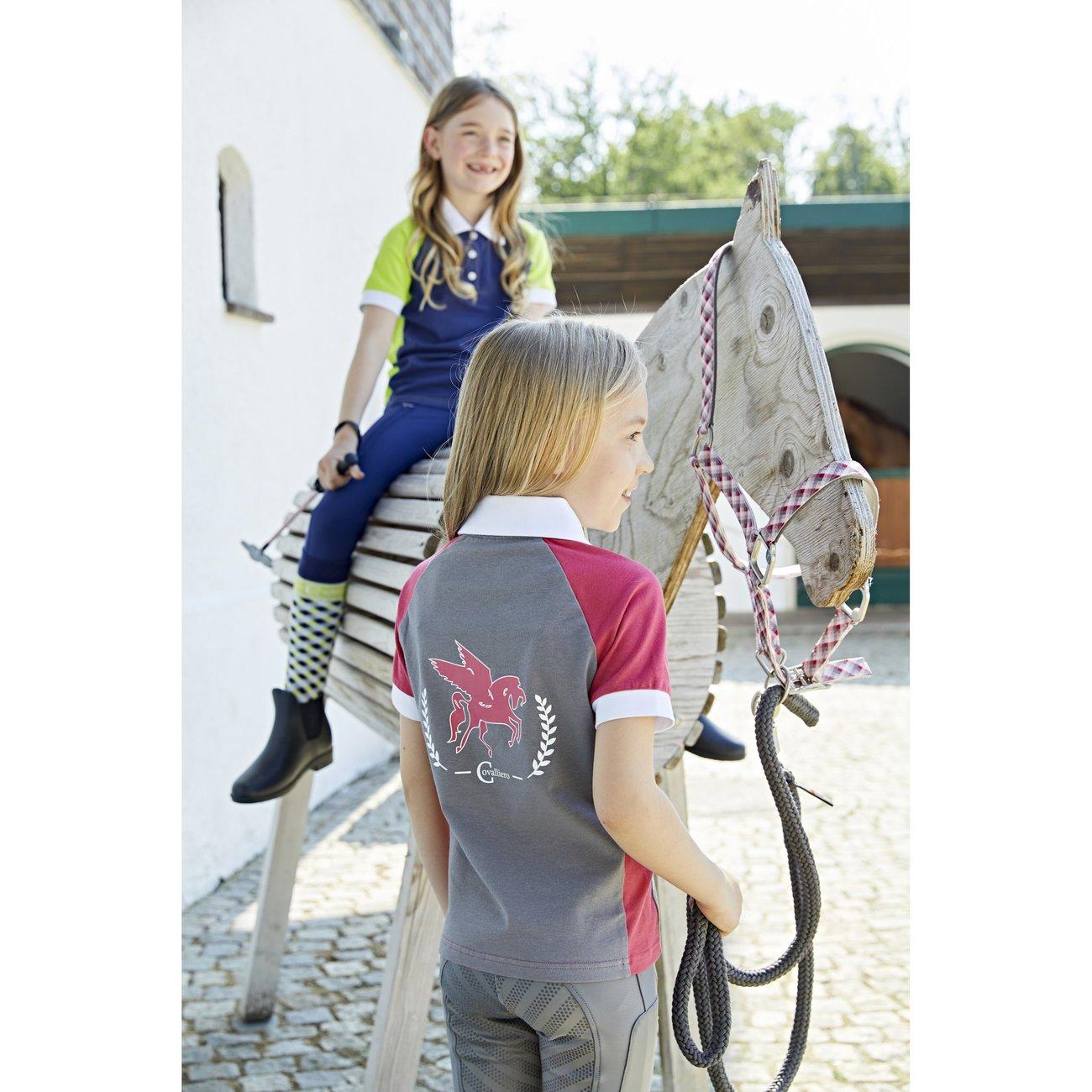 Covalliero Polo Shirt Praffo für Kinder Bild 3