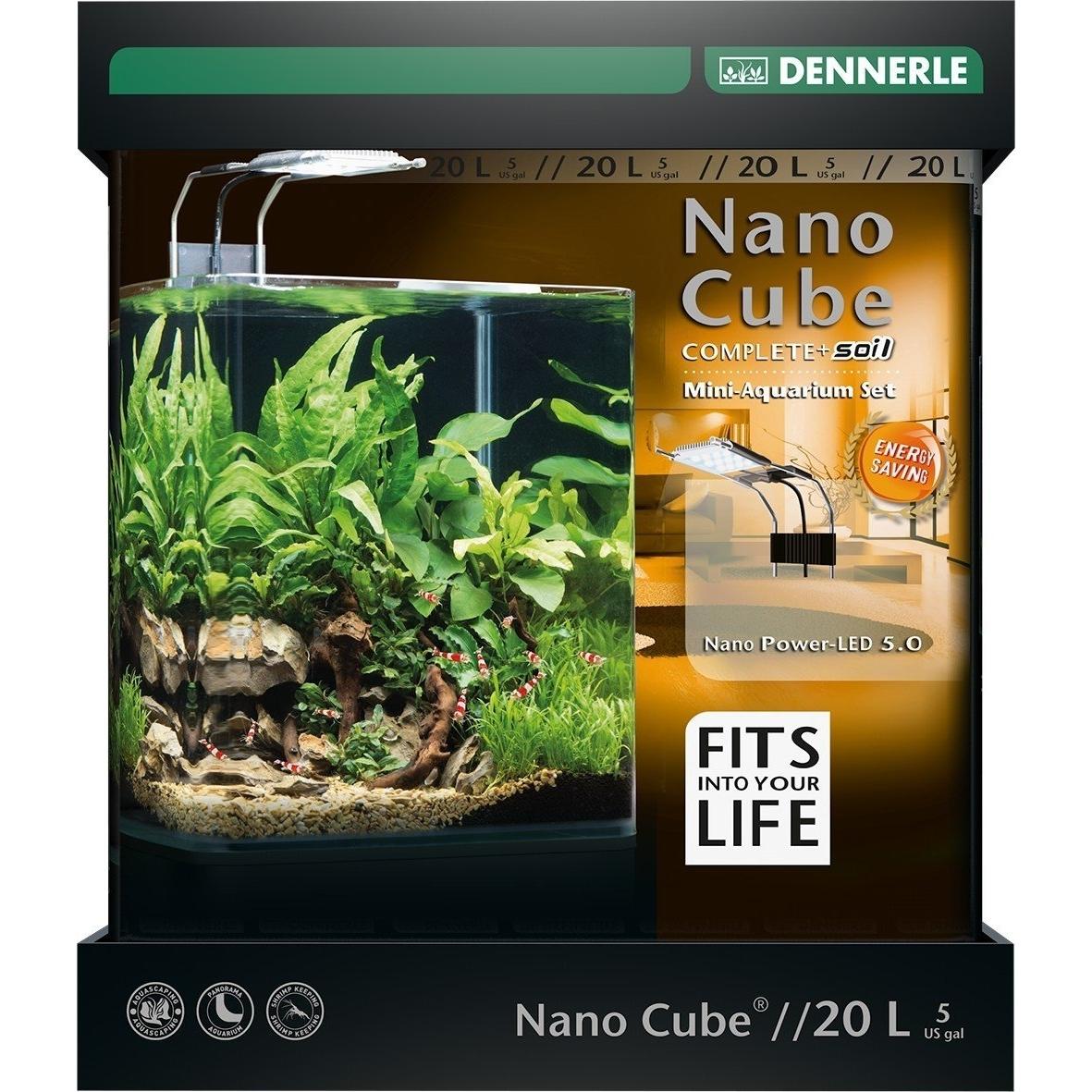 Dennerle NanoCube Complete+ SOIL PowerLED 5.0 Bild 2