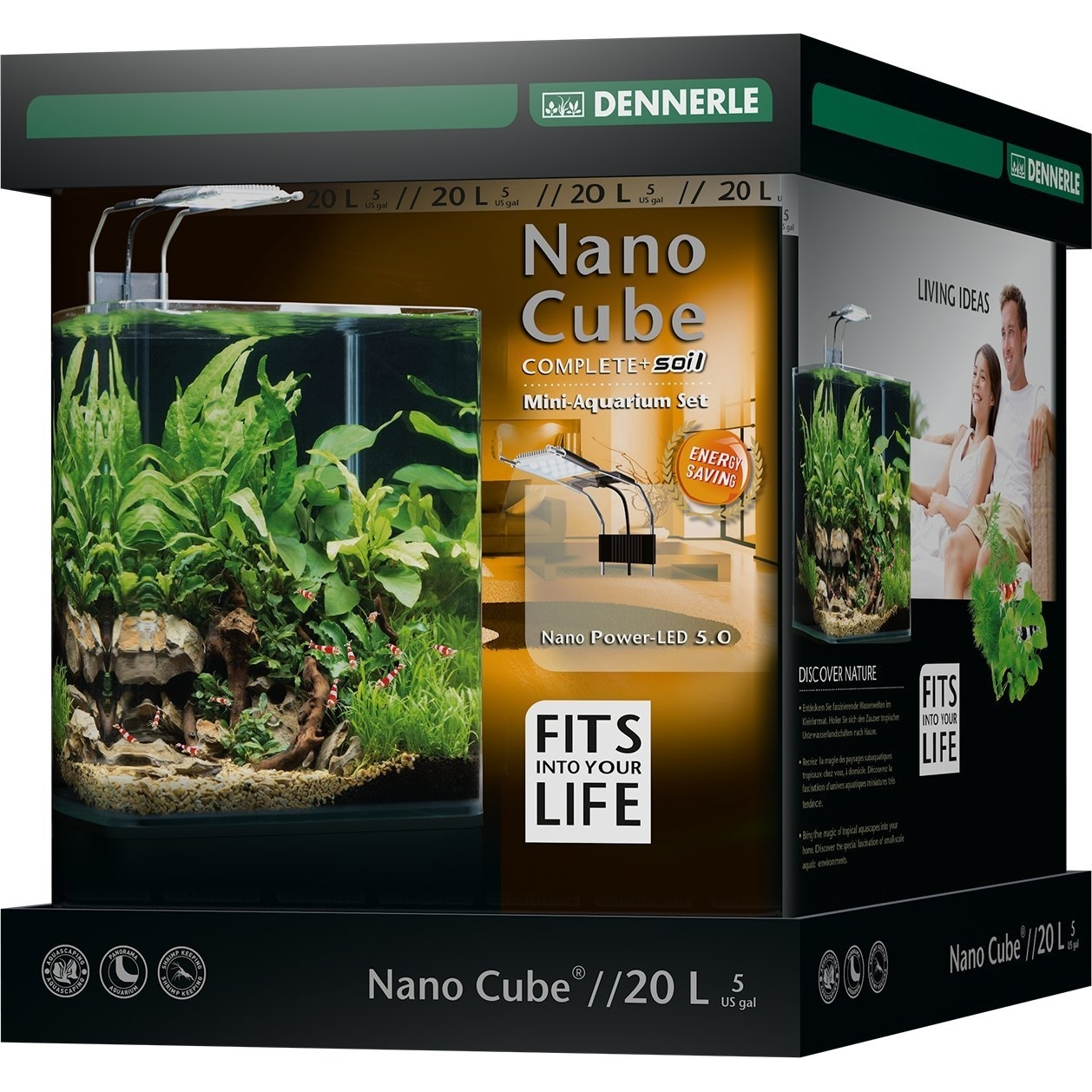Dennerle NanoCube Complete+ SOIL PowerLED 5.0 Bild 3