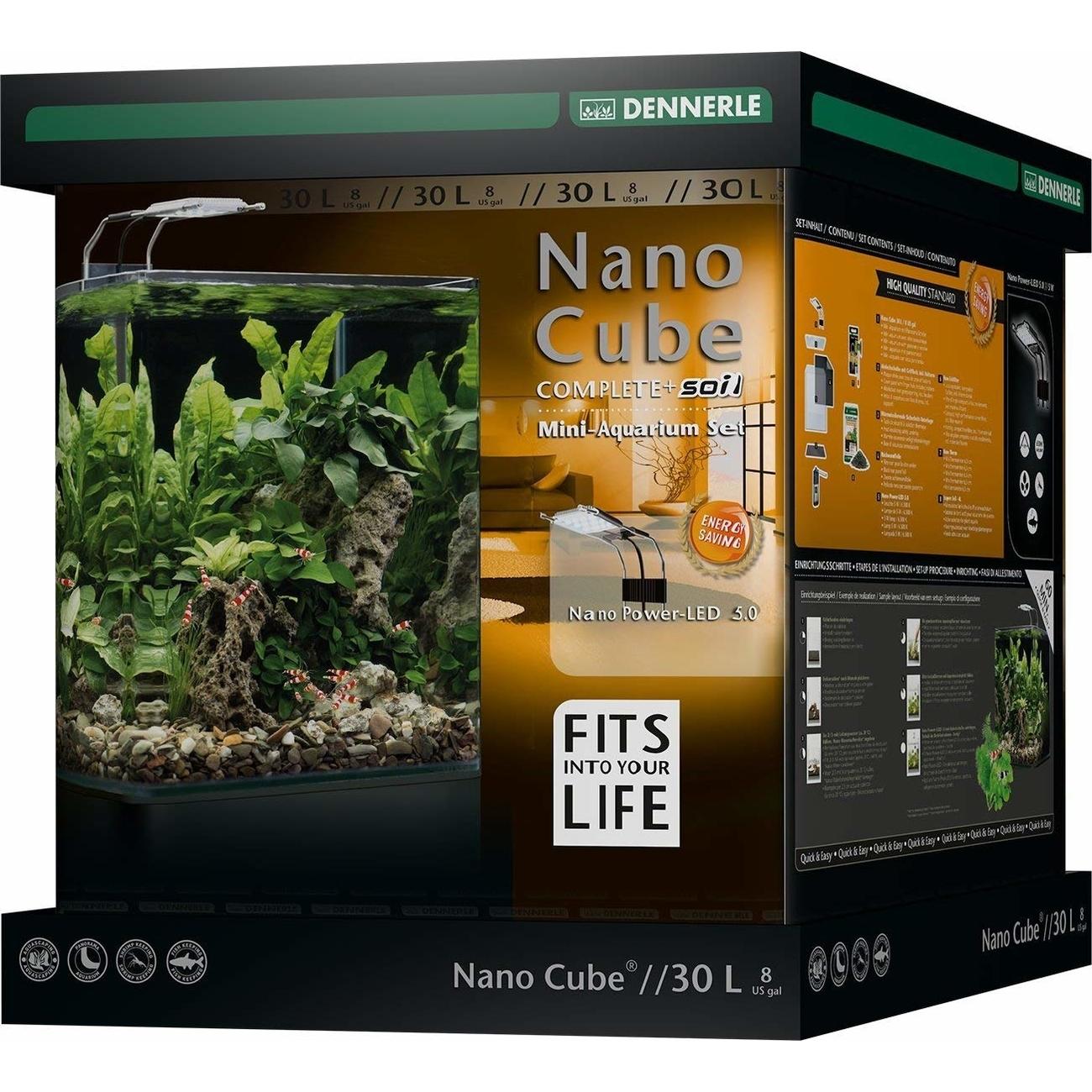 Dennerle NanoCube Complete+ SOIL PowerLED 5.0 Bild 7