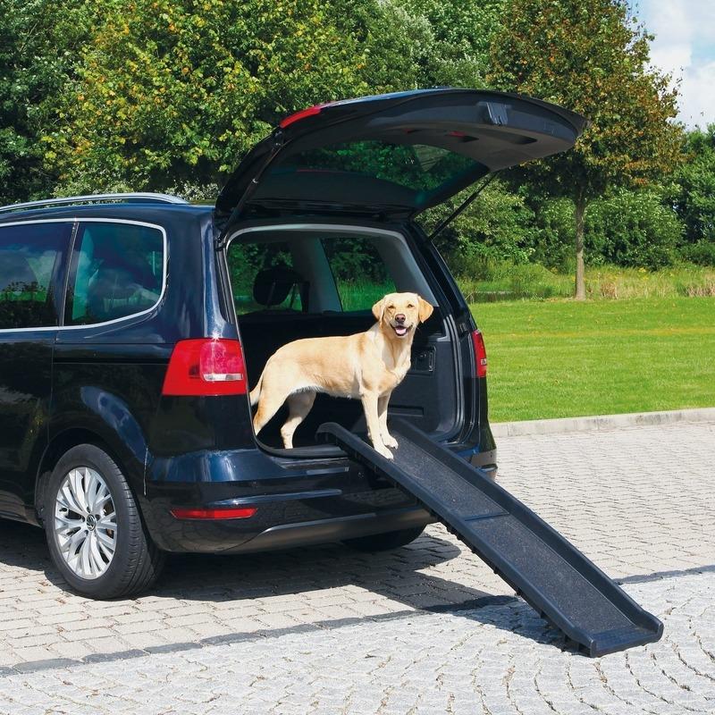 Trixie Petwalk Einstiegshilfe Autorampe für Hunde Klapprampe Bild 2