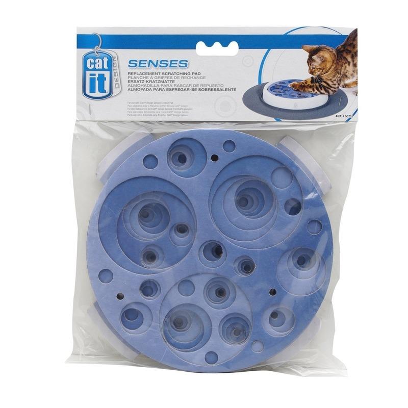 Ersatz-Kratzmatte blau für Catit Design Senses Scratch Pad Bild 2