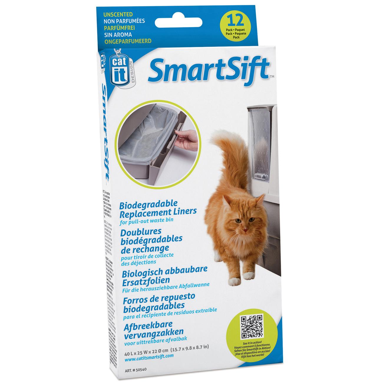 Ersatzbeutel für Catit Smart Sift selbstreinigende Katzentoilette Bild 2