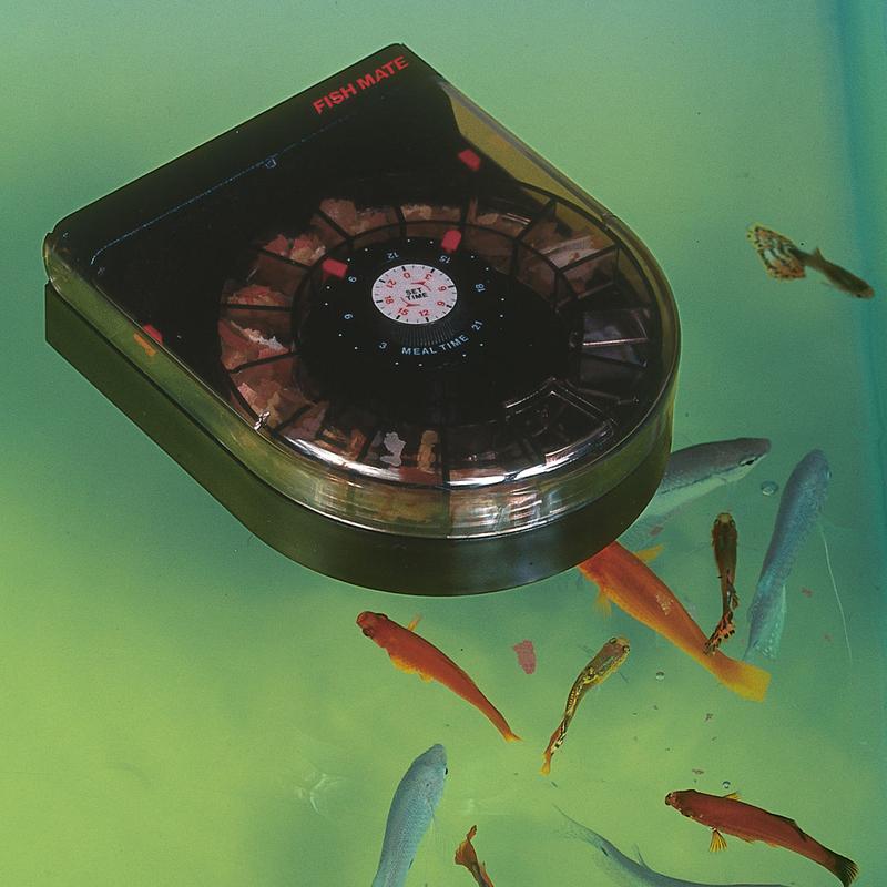 Fischfutterautomat Fish Mate F14 für Aquarium Bild 3
