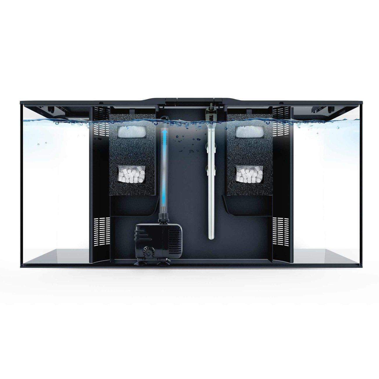Fluval Flex 123 Liter Aquarium Bild 4