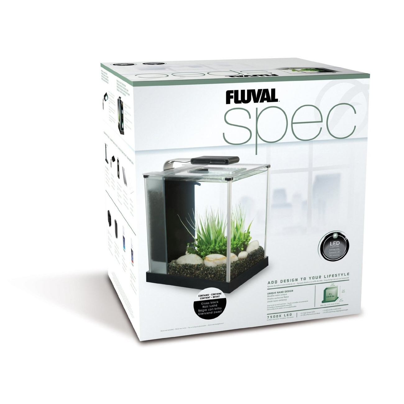Fluval SPEC Süßwasser Aquarium Set Bild 2