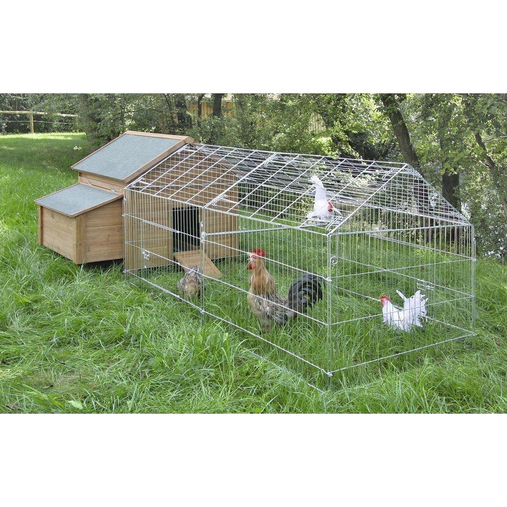 Freigehege für Kaninchen mit Sonnenschutz Bild 3