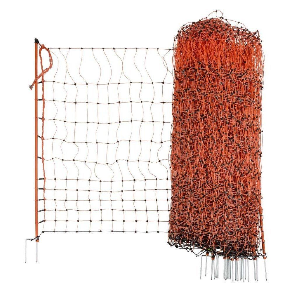 Geflügelnetz PoultryNet orange elektrifizierbar Bild 19