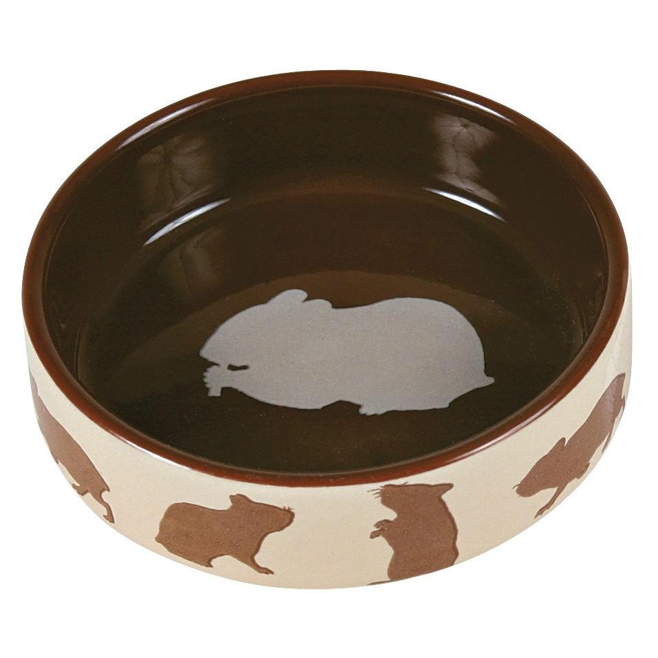 Hamsternapf aus Keramik mit Motiv Bild 2