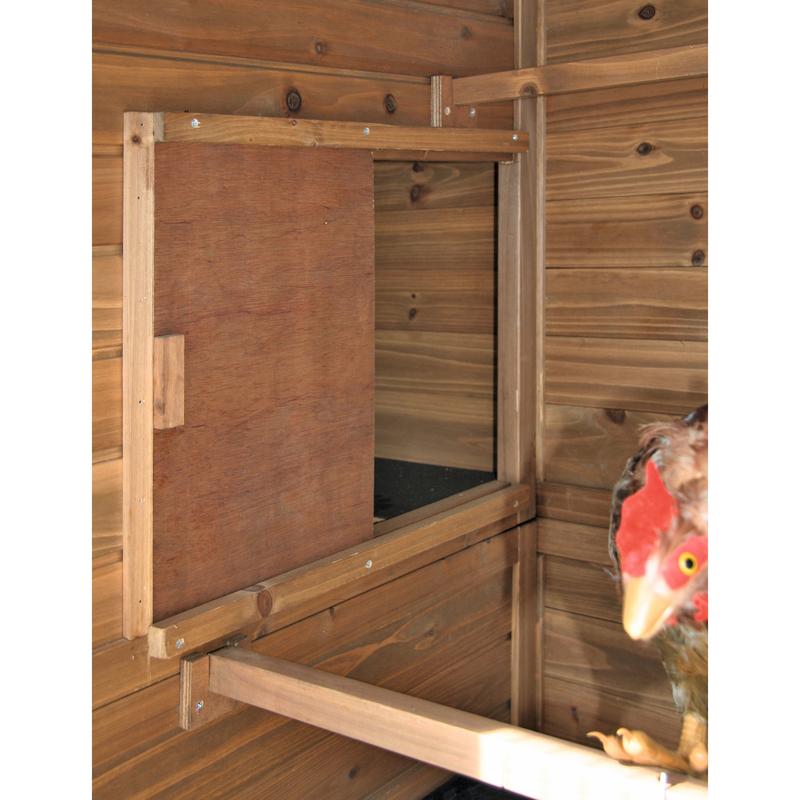 Hühnerhaus Hühnerstall XXL aus Holz Bild 5