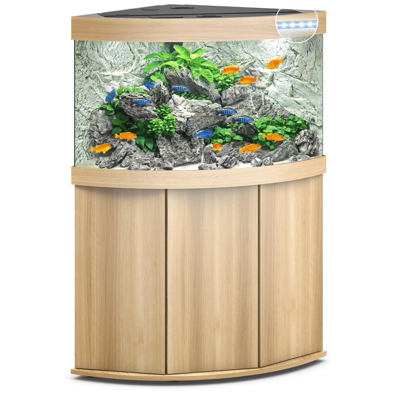 Juwel Trigon 190 LED Eck-Aquarium mit Unterschrank Bild 11