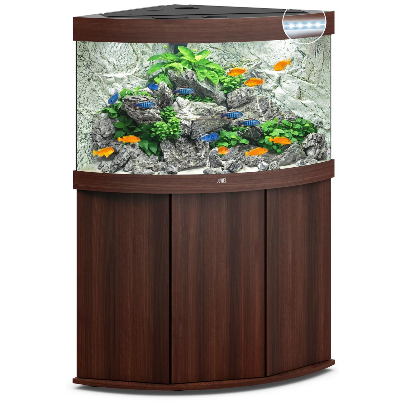 Juwel Trigon 190 LED Eck-Aquarium mit Unterschrank Bild 15