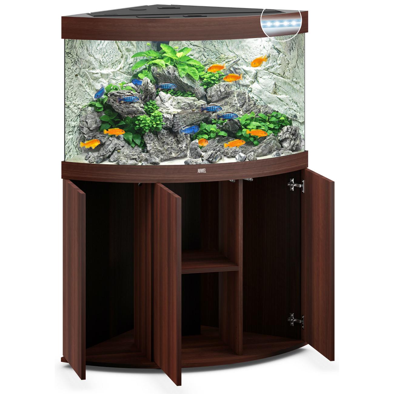 Juwel Trigon 190 LED Eck-Aquarium mit Unterschrank Bild 16