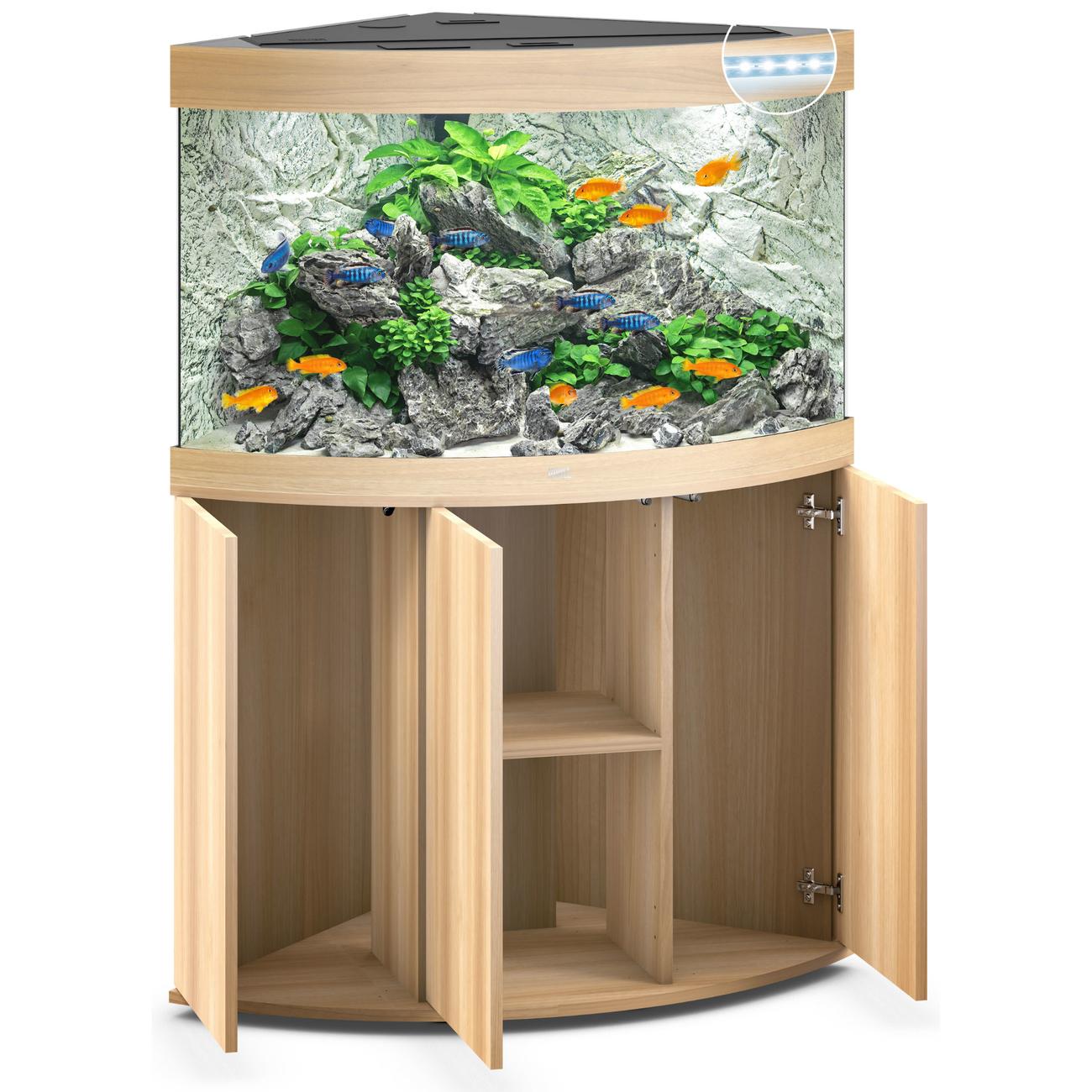 Juwel Trigon 190 LED Eck-Aquarium mit Unterschrank Bild 12