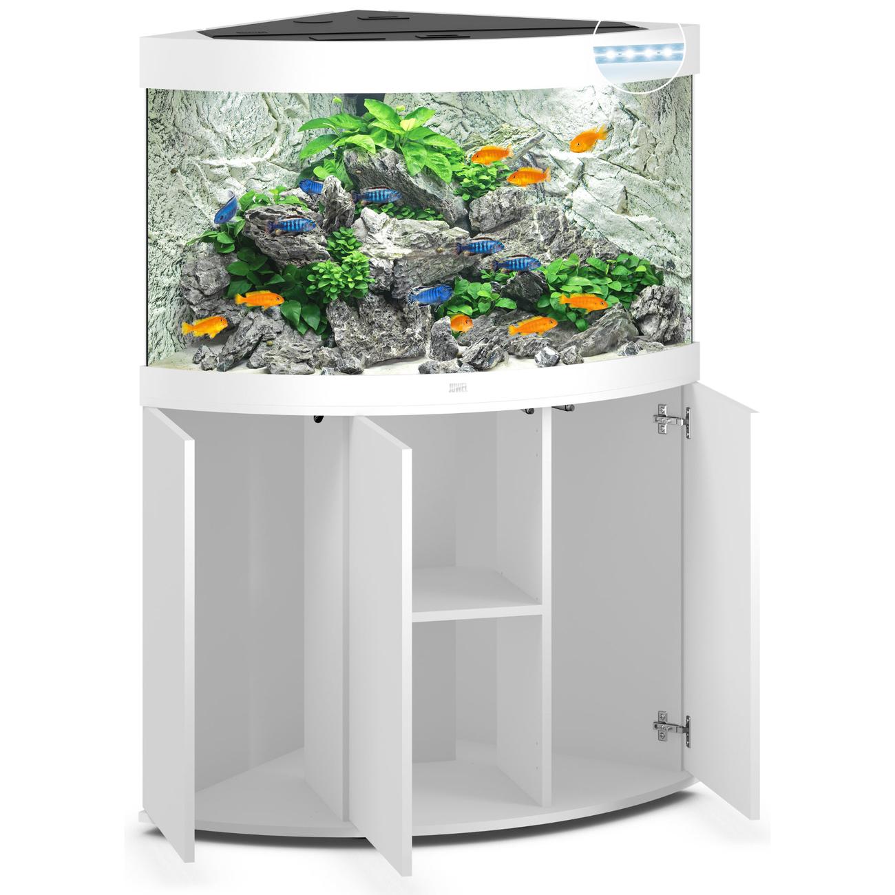 Juwel Trigon 190 LED Eck-Aquarium mit Unterschrank Bild 9