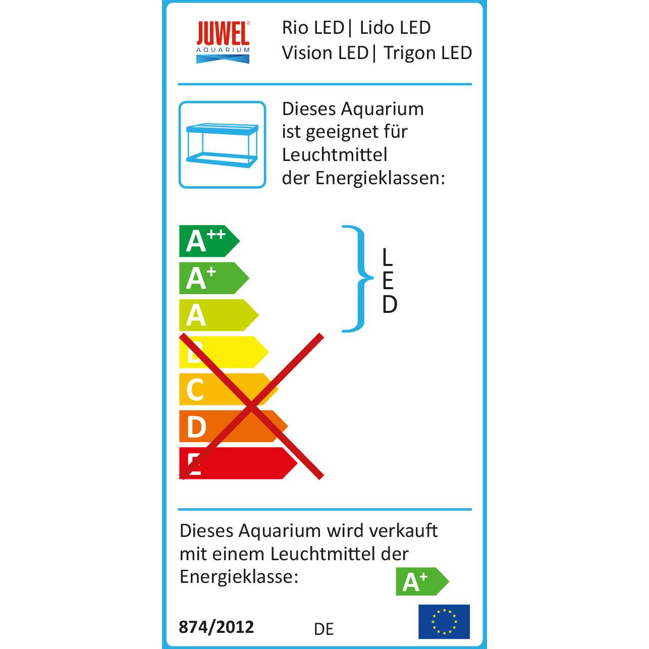 JUWEL Vision 450 LED Aquarium mit Unterschrank Bild 7