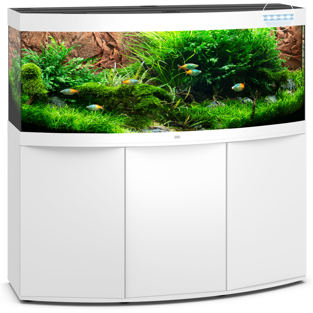 JUWEL Vision 450 LED Aquarium mit Unterschrank Bild 8