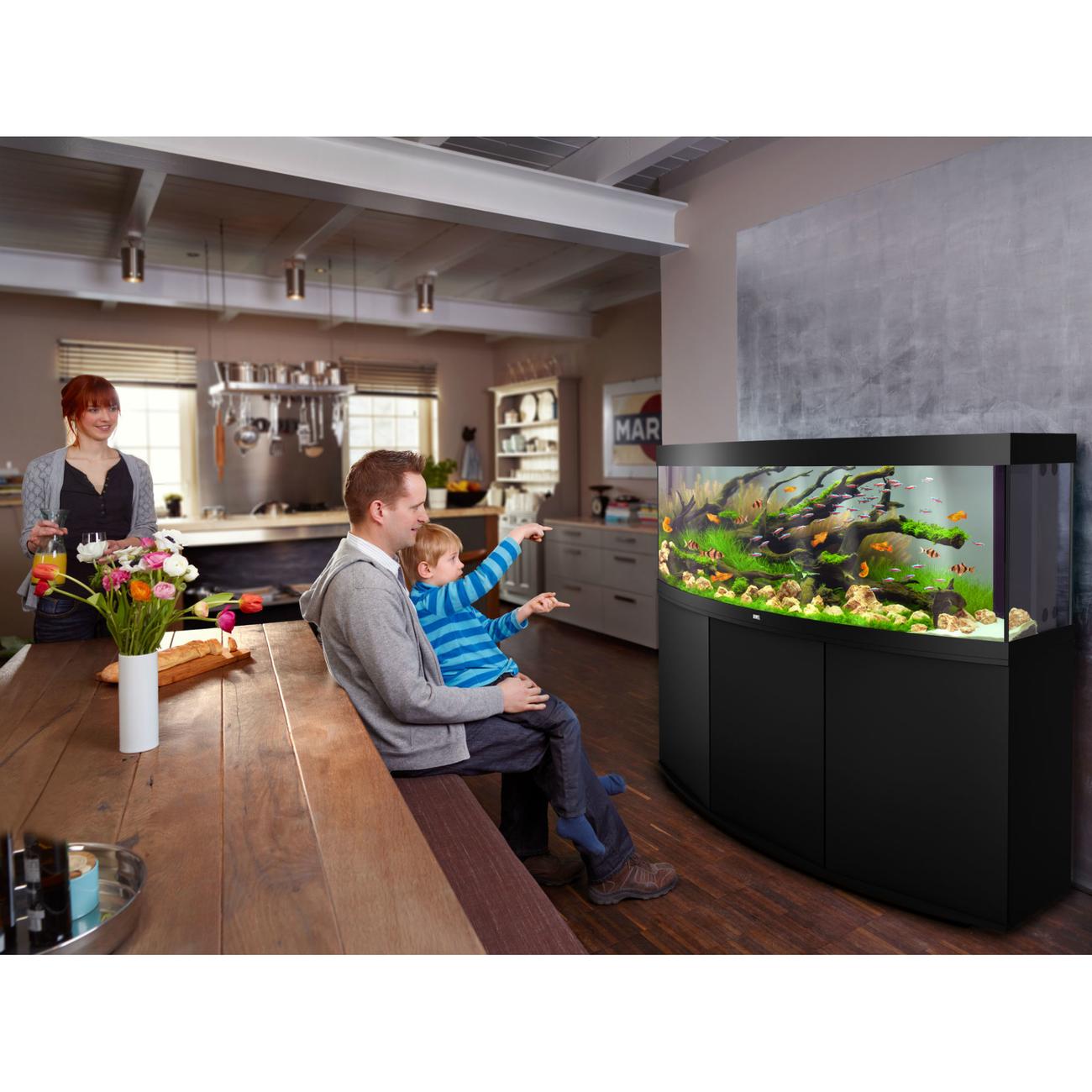 JUWEL Vision 450 LED Aquarium mit Unterschrank Bild 4