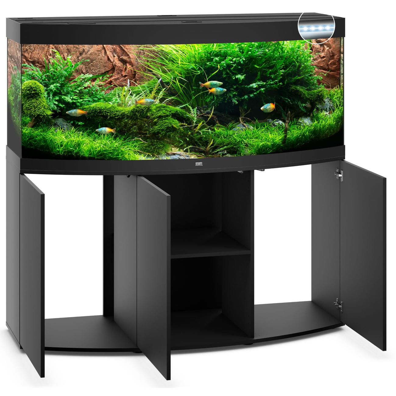 JUWEL Vision 450 LED Aquarium mit Unterschrank Bild 3
