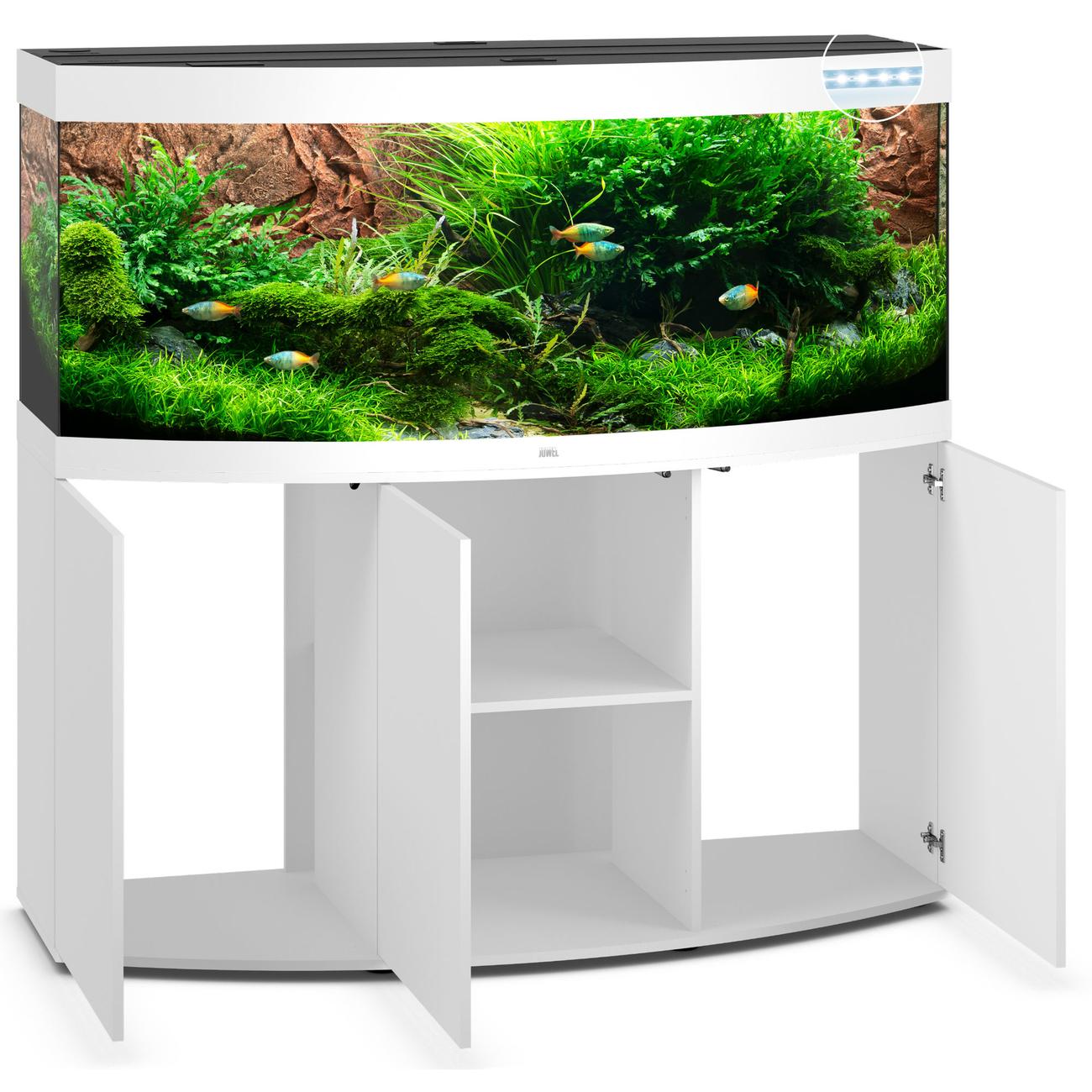 JUWEL Vision 450 LED Aquarium mit Unterschrank Bild 10