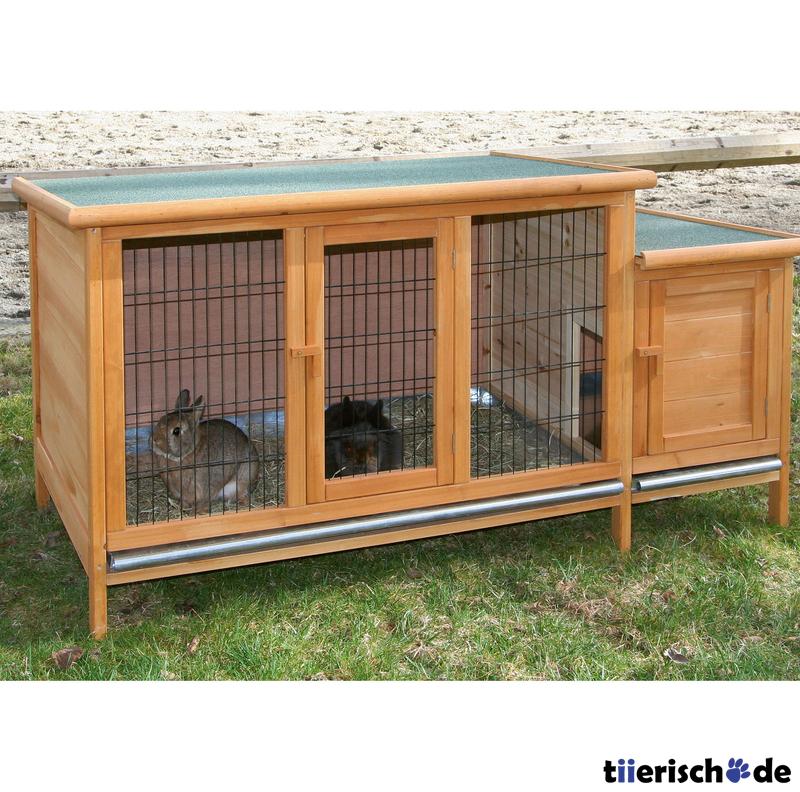 kaninchenstall xxl von kerbl g nstig bestellen bei. Black Bedroom Furniture Sets. Home Design Ideas