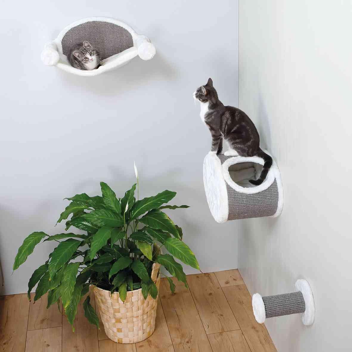Katzen Hängematte zur Wandmontage Bild 3