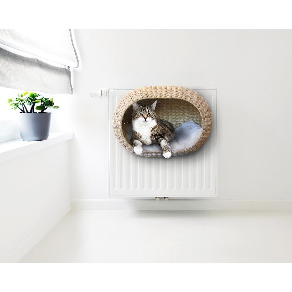 Katzen Heizungskorb Sunrise mit Kissen Bild 6