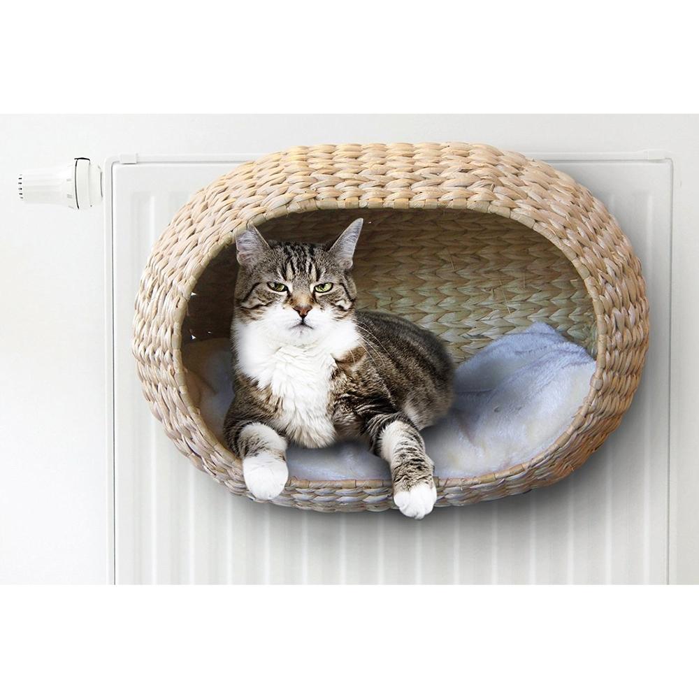 Katzen Heizungskorb Sunrise mit Kissen Bild 7