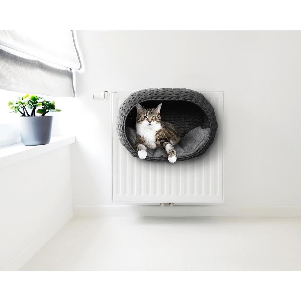 Katzen Heizungskorb Sunrise mit Kissen Bild 8