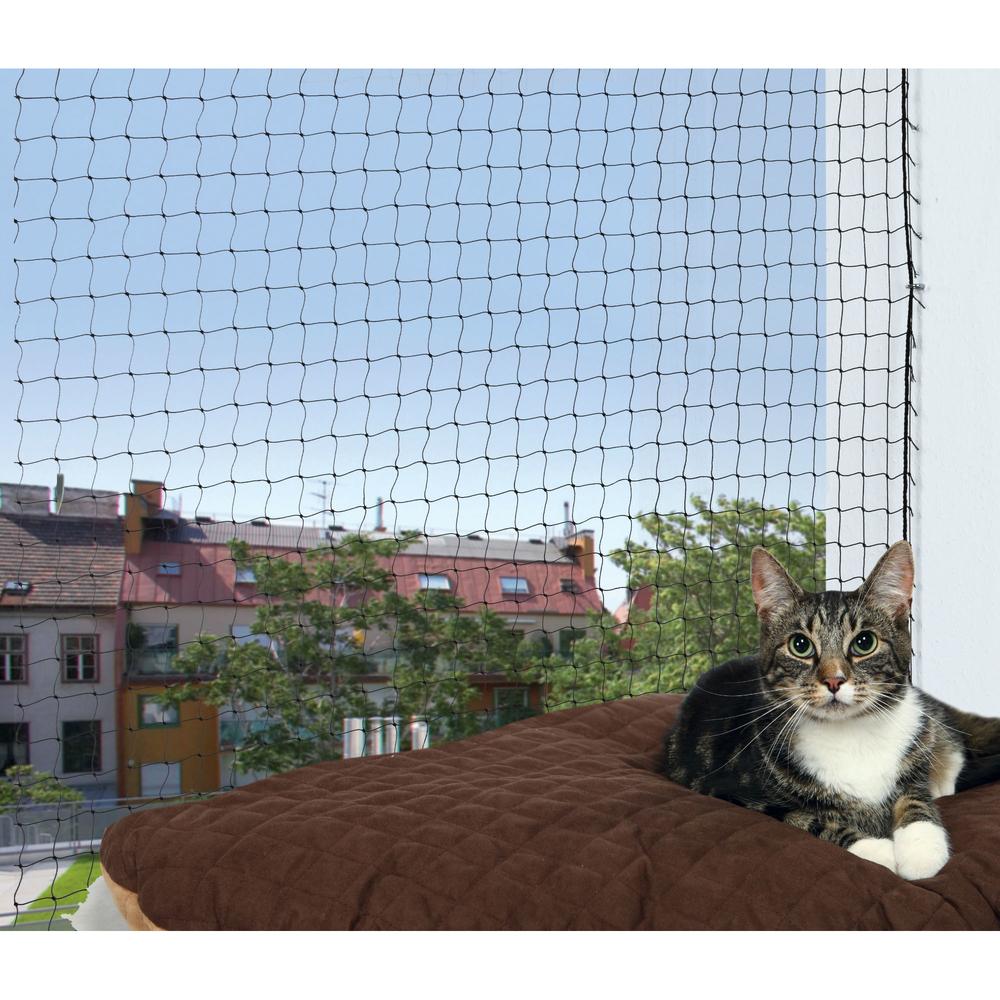 katzenschutznetz mit montage befestigung 44301 von trixie g nstig bestellen bei. Black Bedroom Furniture Sets. Home Design Ideas