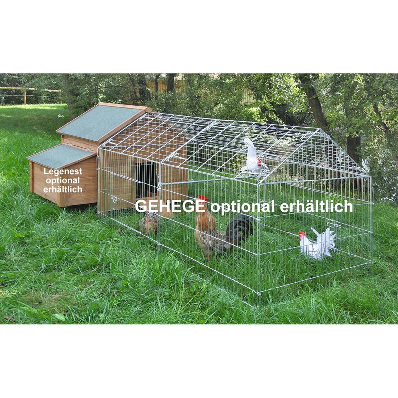 Kleintierstall für Hühner oder Kaninchen Bild 6