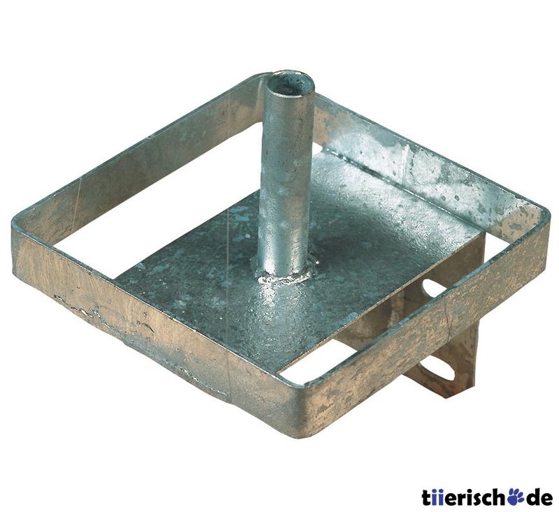 Kerbl Lecksteinhalter aus Metall Bild 1