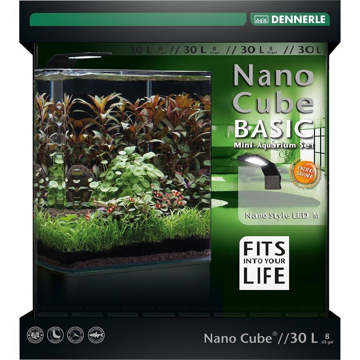 Dennerle NanoCube Basic Style LED Aquarium Bild 5