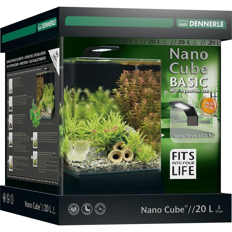 Dennerle NanoCube Basic Style LED Aquarium Bild 3