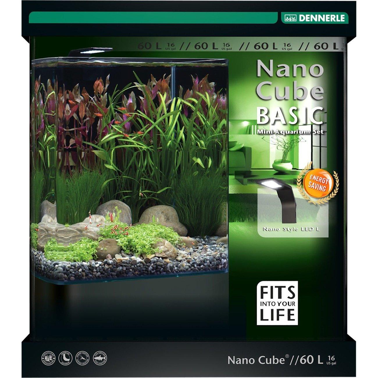 Dennerle NanoCube Basic Style LED Aquarium Bild 7