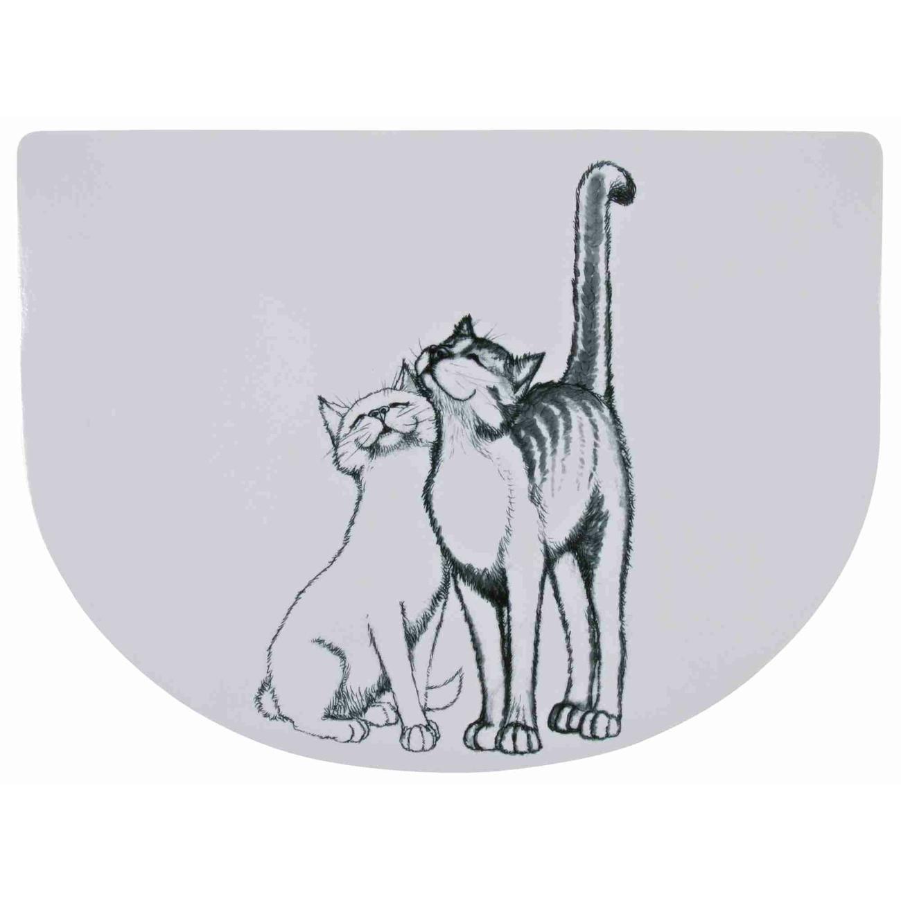 Napfunterlage Schmusekatzen Bild 1