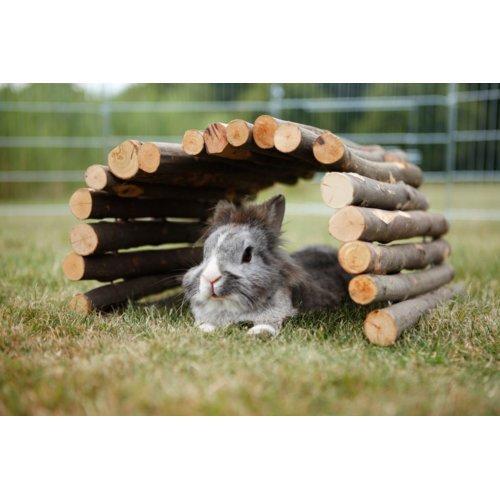 Naturholzbrücke für Kleintiere Bild 2