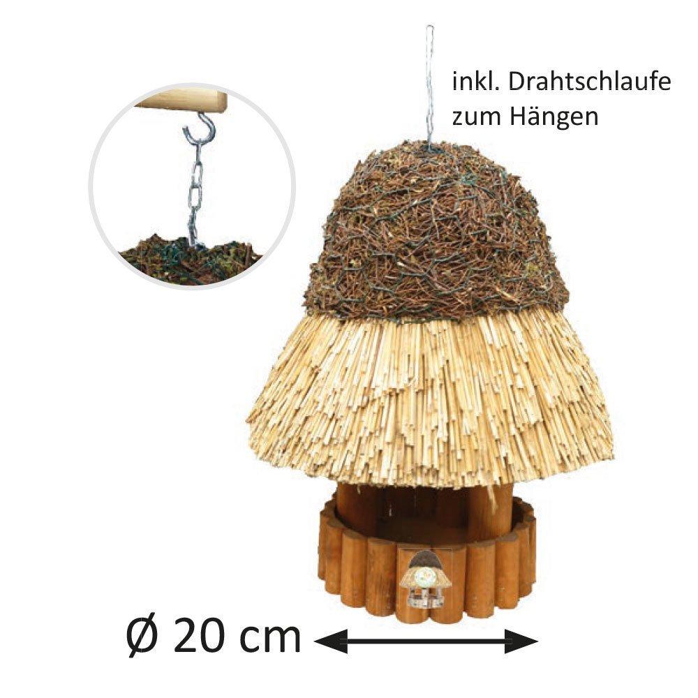 Vogelhaus Reetdach Amrum Bild 6