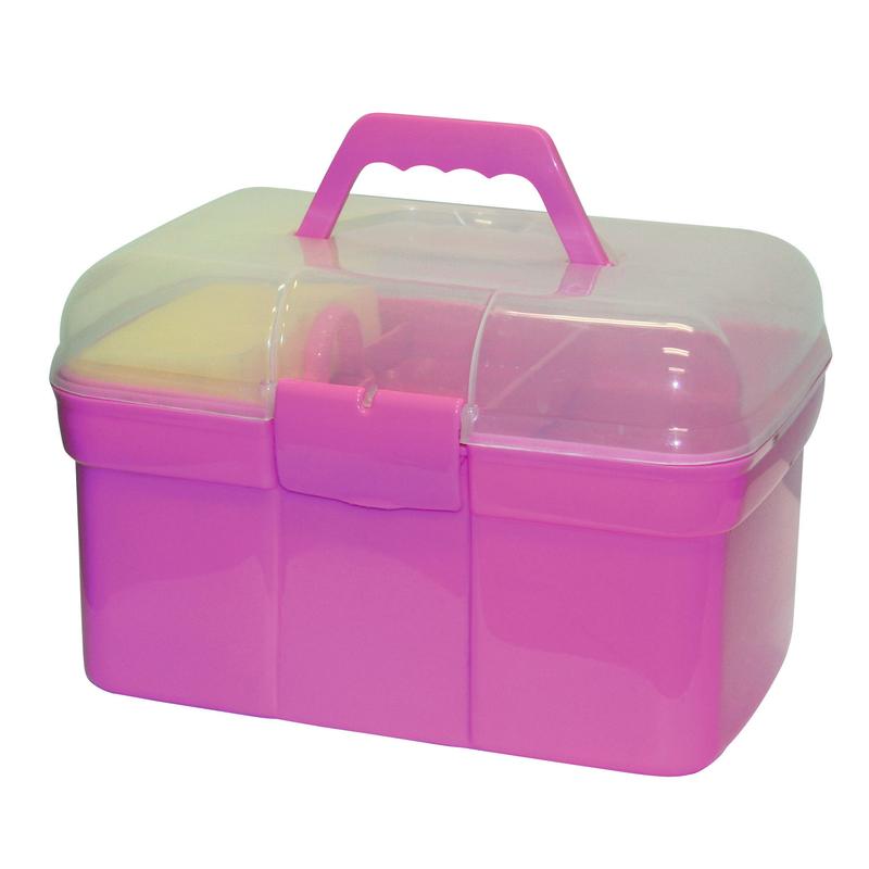Kerbl Pferde Putzbox für Kinder befüllt Bild 2