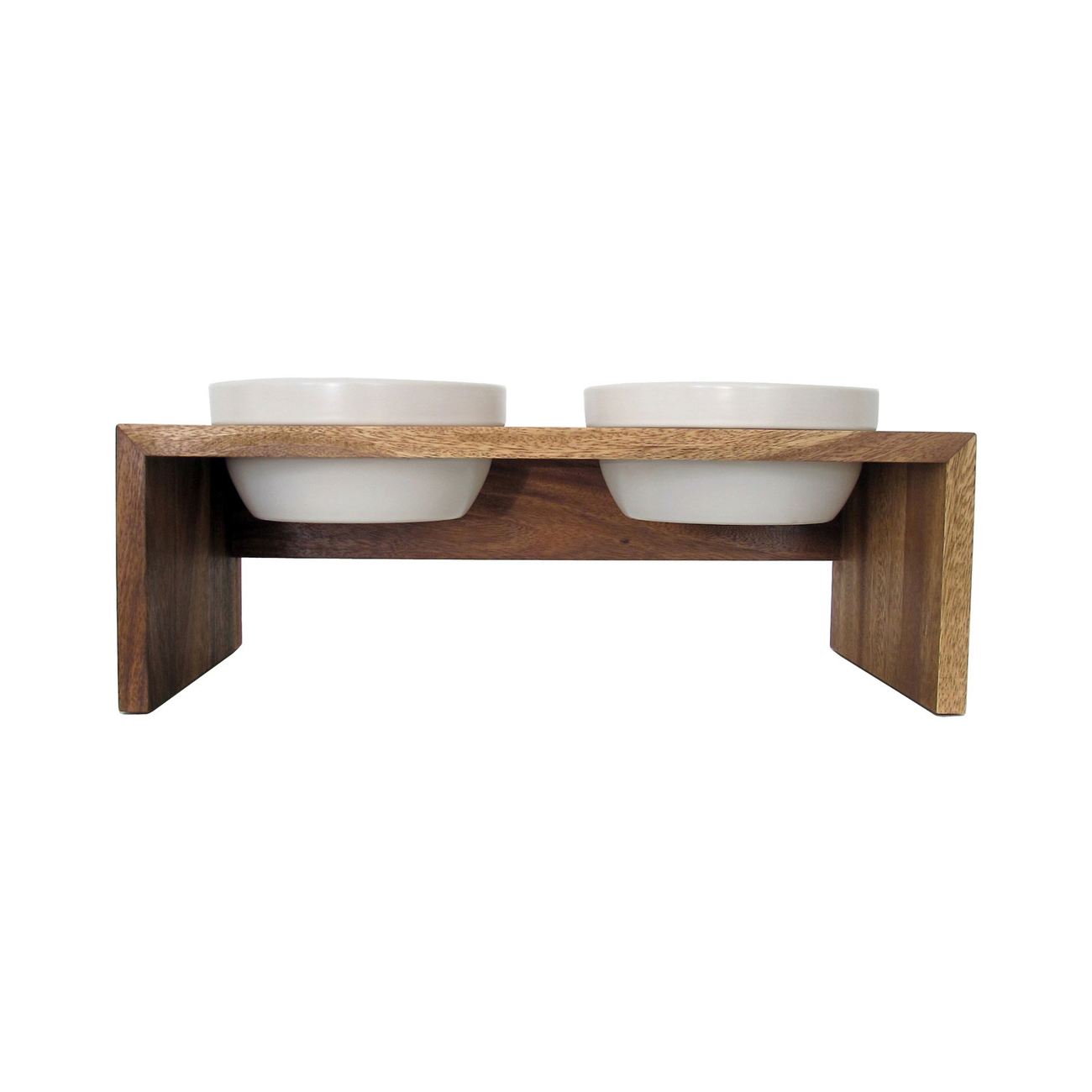 Replus Gohan Doppelnapf Holz Bild 5