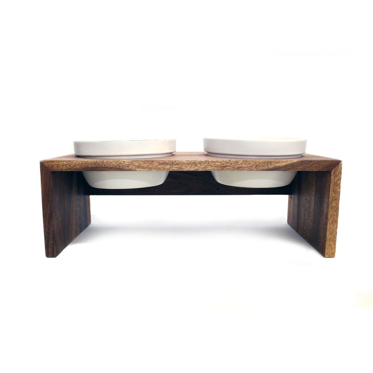 Replus Gohan Doppelnapf Holz Bild 6